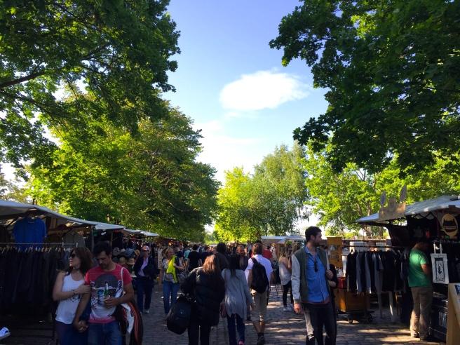 Mauerpark Flea Market Berlin